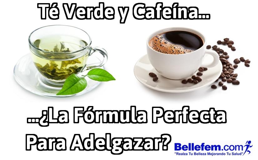 Té Verde y Cafeína… ¿La Fórmula Perfecta para Adelgazar?