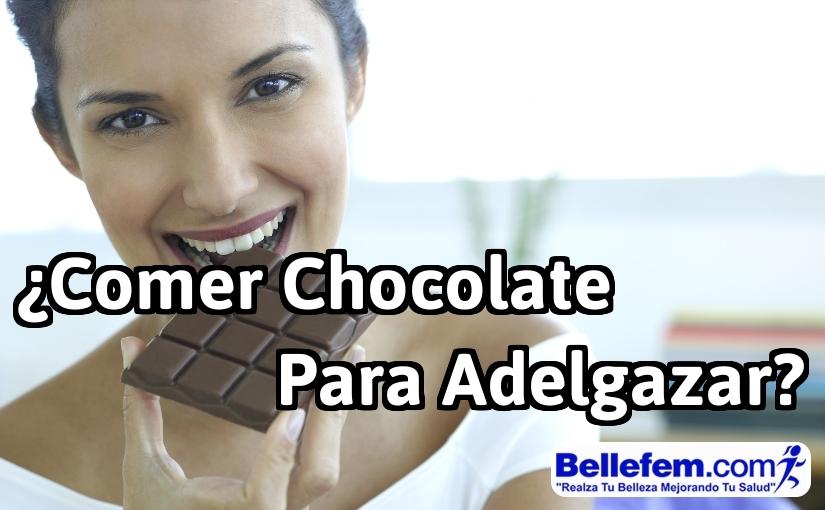 ¿Comer Chocolate para Adelgazar?