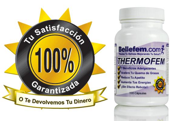 garantia pastillas para adelgazar thermofem