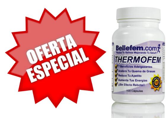 oferta pastillas para adelgazar thermofem