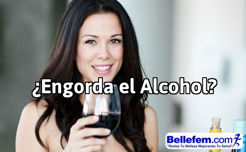 engorda el alcohol