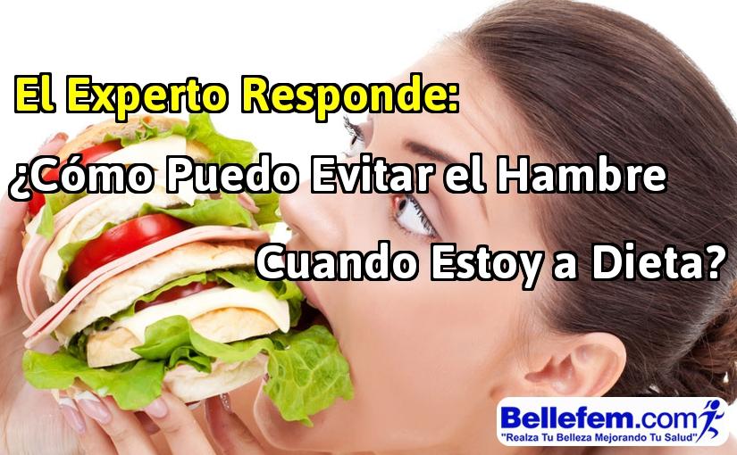 como evitar hambre dieta