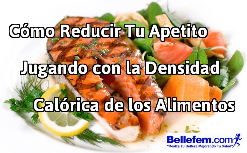 densidad calórica alimentos