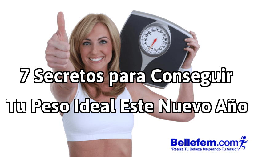 secretos conseguir peso ideal